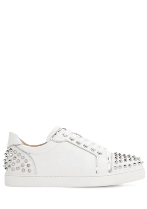 30mm Vieirissima Spikes Leather Sneakers