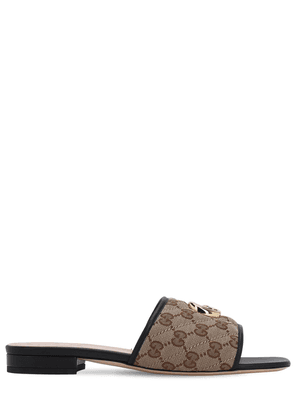 10mm Jolie Quilted Canvas Sandals