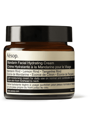 Aesop - Mandarin Facial Hydrating Cream, 60ml - Men - Colorless