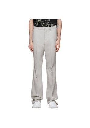 Givenchy Off-White Bootcut Tailored Trousers