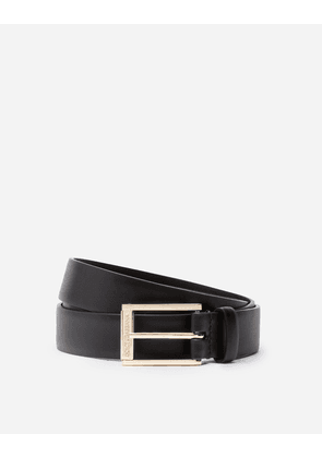 Dolce & Gabbana Collection - LUX LEATHER BELT BLACK/GOLD