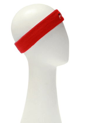 Fila Headband With Logo Unisex Red