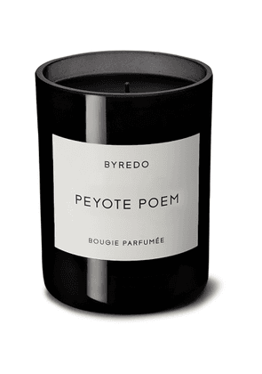 Byredo - Peyote Poem Scented Candle, 240g - Men - Colorless