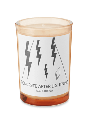 D.S. & Durga - Concrete After Lightning Scented Candle, 200g - Men - Colorless
