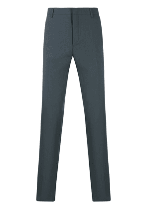Prada side panelled tailored trousers - Grey
