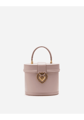 Dolce & Gabbana Collection - DEVOTION BAG IN SMOOTH CALFSKIN PALE PINK