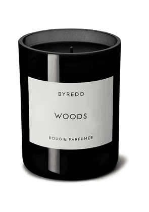 Byredo - Woods Scented Candle, 240g - Men - Colorless