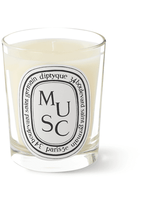 Diptyque - Musc Scented Candle, 190g - Men - Colorless