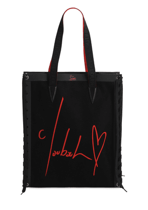 Cabalase Printed Cotton Canvas Tote Bag