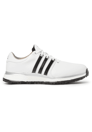 Adidas Golf - Tour360 Xt-sl Leather And Mesh Golf Shoes - White