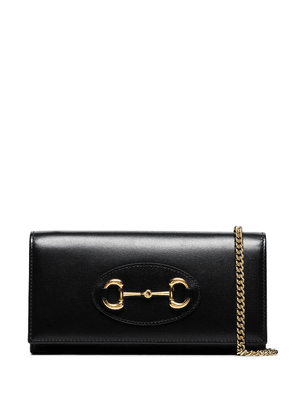 Gucci Horsebit chain wallet bag - Black