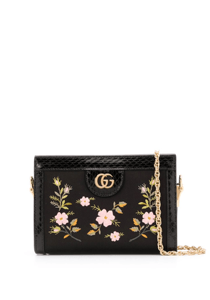 Gucci Ophidia floral crossbody bag - Black