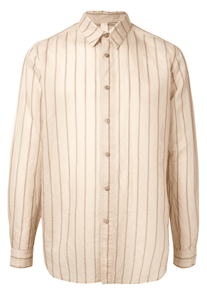 Forme D'expression relaxed fit shirt - NEUTRALS