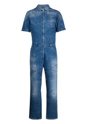 Fendi denim boilersuit - Blue
