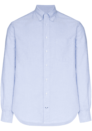 Gitman Vintage button-down long-sleeve shirt - Blue