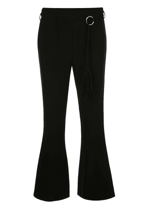Cinq A Sept Avril flared trousers - Black