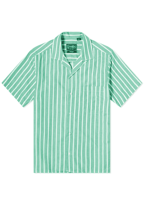 Gitman Vintage Camp Collar Awning Stripe Shirt