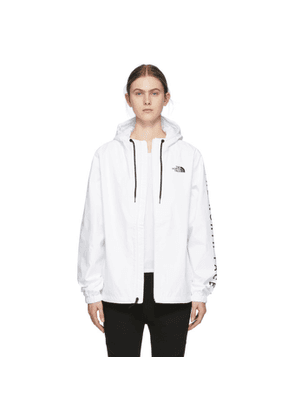 The North Face White Cultivation Rain Jacket