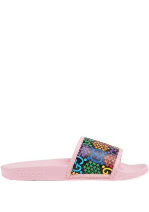 Gucci GG Psychedelic slides - PINK