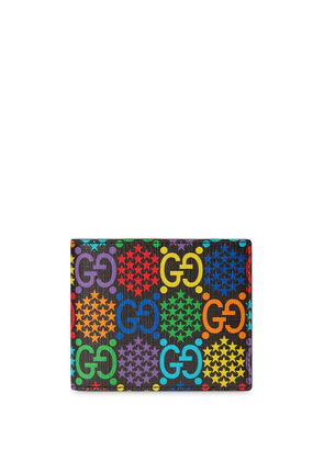 Gucci GG Psychedelic print wallet - Black