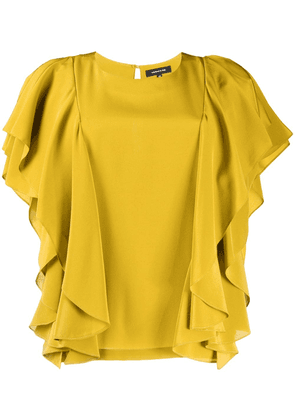 Barbara Bui ruffled top - Yellow