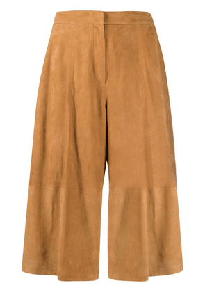 Desa 1972 suede wide-leg trousers - Brown