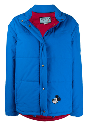 Gucci x Disney Mickey Mouse puffer jacket - Blue