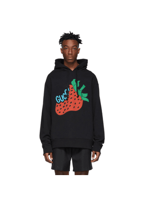 Gucci Black Strawberry Hoodie