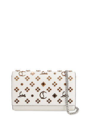 Paloma Leather Louby In The Sky Clutch