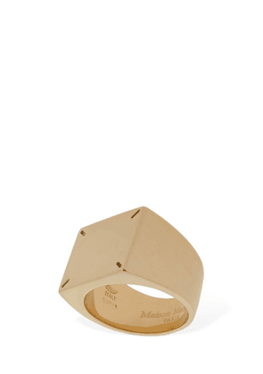 Squared Sterling Silver Ring