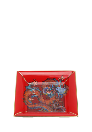 Dragon Square Fine Bone China Tray