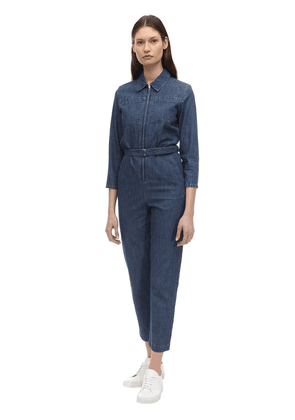 Combi Cotton Denim Jumpsuit