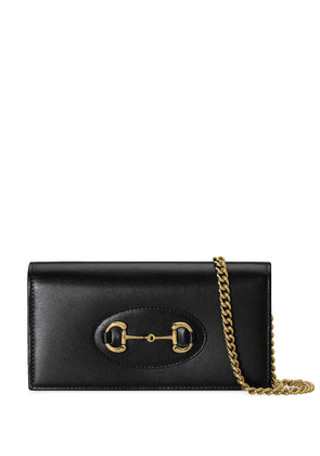Gucci 1955 Horsebit chain wallet - Black