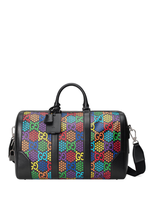 Gucci GG Psychedelic holdall - Black