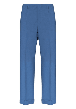 Givenchy cropped tailored trousers - Blue
