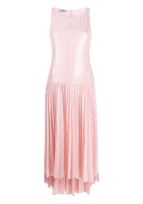 Atu Body Couture sequinned pleated dress - PINK