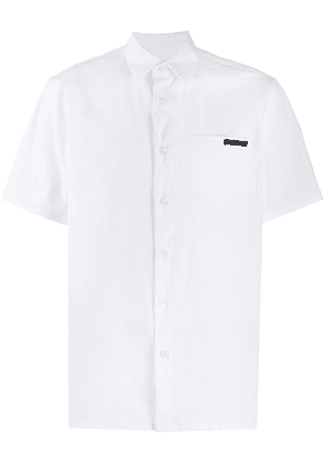Prada chest pocket poplin shirt - White