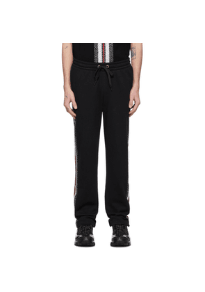 Burberry Black Arnold Lounge Pants