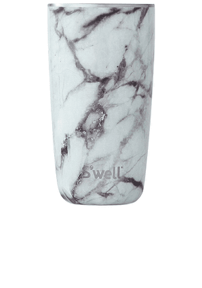 S'well 18oz Cup in White.