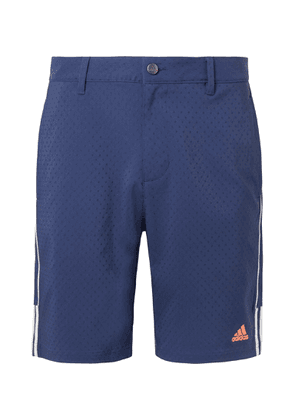 Adidas Golf - Canvas-dobby Golf Shorts - Blue