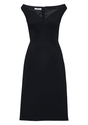 Prada off-shoulder bateau neck dress - Black