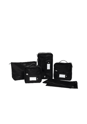 BEIS The Lingerie Packing Cube Set in Black.