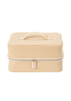 BEIS The Hanging Cosmetic Case in Beige.