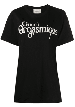 Gucci logo-print T-shirt - Black
