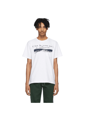 Engineered Garments White Young Old T-Shirt