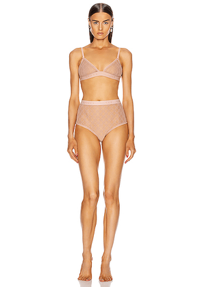 Gucci Lingerie Set in Pale Pink - Pink. Size L (also in M,XS).
