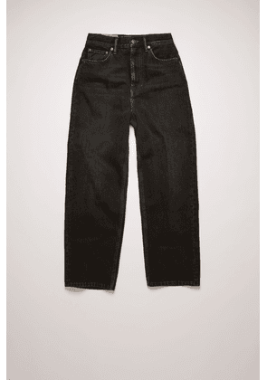 Acne Studios Acne Studios 1993 Vintage Black1 Black Relaxed tapered jeans