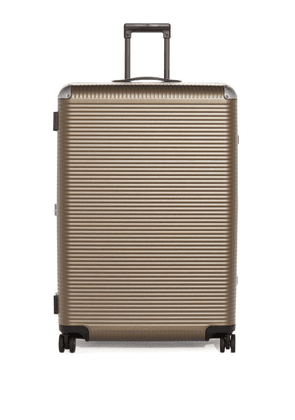 Fabbrica Pelletterie Milano - Bank Light Large Trunk Suitcase - Womens - Brown