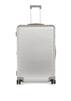 Fabbrica Pelletterie Milano - Bank S Spinner 76 Check-in Suitcase - Womens - Silver