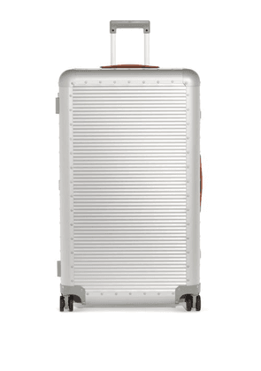 Fabbrica Pelletterie Milano - Bank Spinner 84 Check-in Suitcase - Womens - Silver